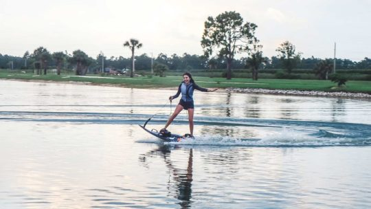 Motorized surfboard rental in Fort Myers, Florida